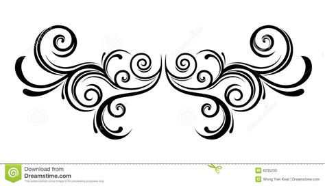 flora ornament stock vector illustration  isolated