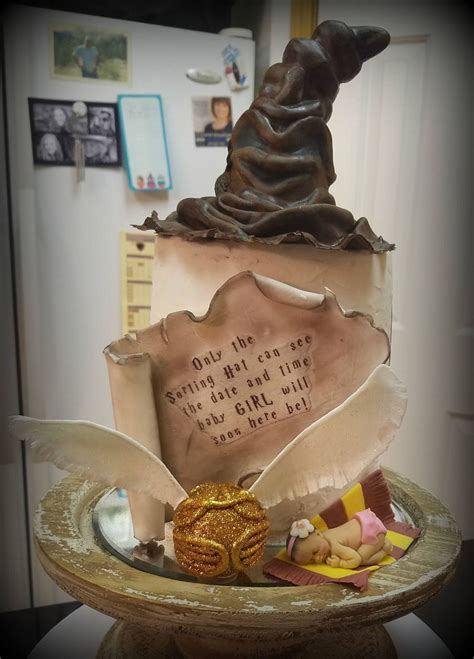 Harry Potter Baby Shower Theme by Harry Potter Baby Shower Cake Cakecentral