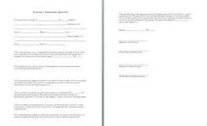 Subcontractor Contract Sle by Subcontract Agreement Form Free Printable Documents