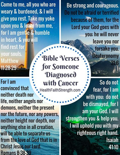 how to comfort someone who has cancer bible verses to encourage someone diagnosed with cancer