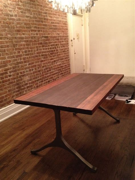 reclaimed wood dining table nyc dining table made out of reclaimed water tower wood from