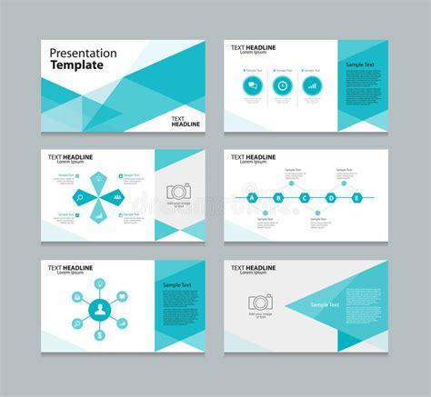 design concept presentation template abstract vector template presentation slides background