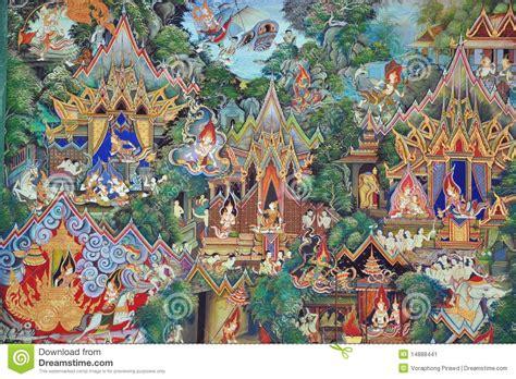 Wall Murals Sale thai mural paintings stock image image 14888441