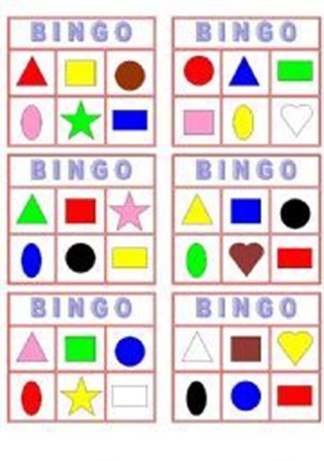 printable bingo cards with shapes geometric shape bingo printable card square circle