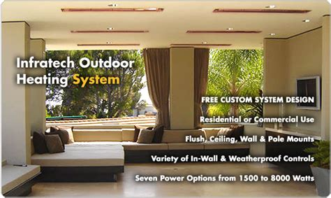 Patio Heating Systems by Outdoor Heating Systems
