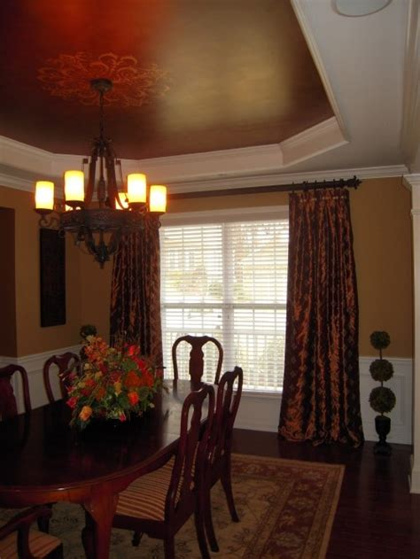 Dining Room Ceilings Dining Room Painted Ceiling Feel At Home