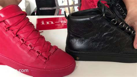 real vs balenciaga arena sneakers compilation