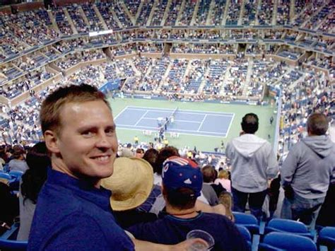 nose bleed section new york tip sit courtside at the us open for 23