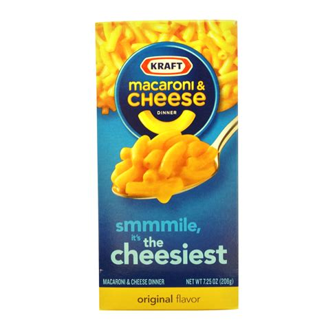 Mac And Cheese Kraft rice and pasta kraft original macaroni and cheese 7 25