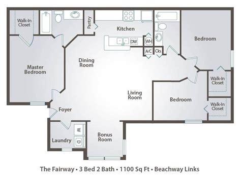3 way bathroom floor plans 1 bedroom apartment floor plans pricing beachway links melbourne fl