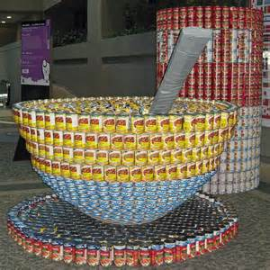 canned food sculpture ideas canned foods food and soups on