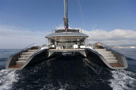 catamaran luxury yacht the blue coast 95 cartouche plays the design trump card