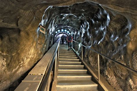 PHOTO: Entrance to Salina Turda Salt Mine