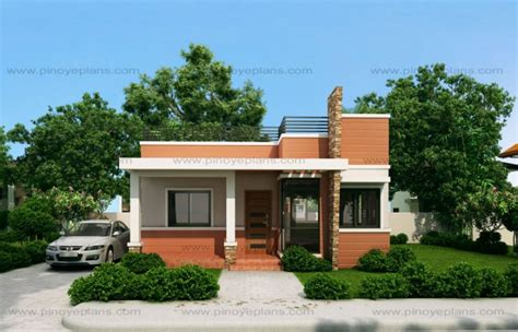 modern two storey house with streamline roof rommell one storey modern with roof deck pinoy eplans