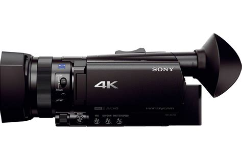 compact 4k sony fdr ax700 compact 4k hdr camcorder