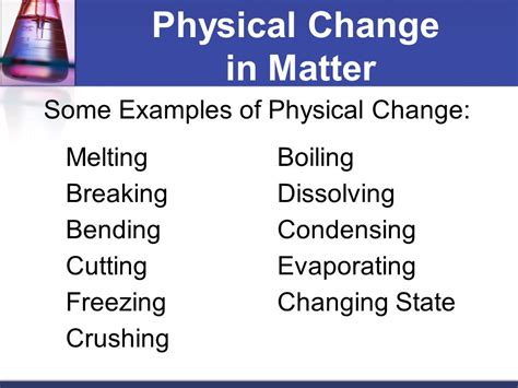 how does a physical change differ from a chemical change