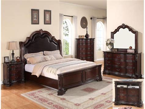bedrooms furniture wood bedroom set