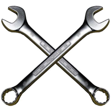 wrenches crossed