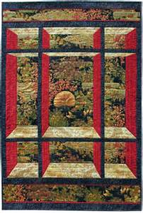 fabric panel quilt patterns