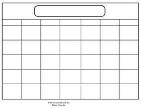 Free Blank Template Blank Monthly Schedule Template April Calendar