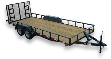 light duty gooseneck trailer appalachian trailers utility dump gooseneck equipment