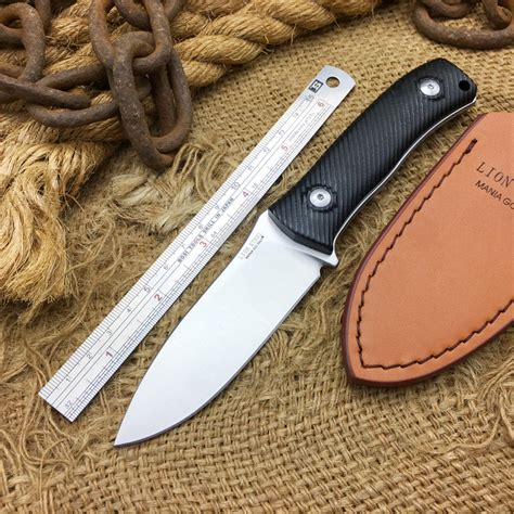 newest knives newest lionsteel custom fixed blade knife d2 steel outdoor