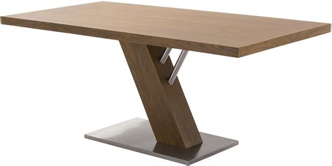 contemporary stainless steel table fusion contemporary stainless steel dining table from