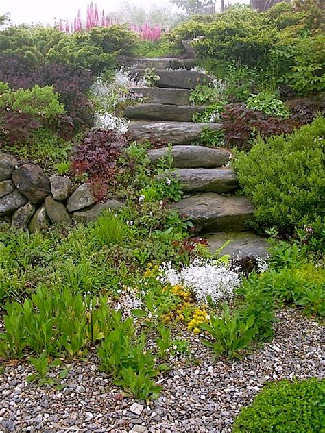 Rock Garden Steps 187 Landscaping Ideas For The Front Of The House The