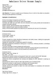 Driver Recruiter Sle Resume by Sample Resume For Truck Driver