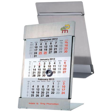 3 month desk calendar calendars promotional gifts print run