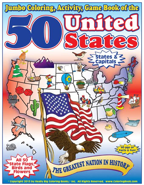 states of the union books coloring books united states coloring book all 50 states