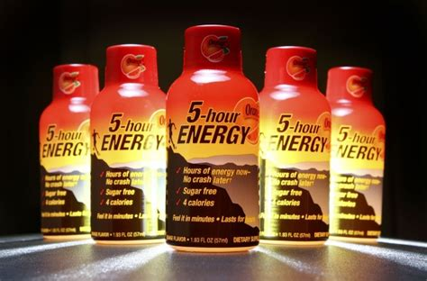 5 energy drink ingredients 5 hour energy drink reviews ingredients nutrition facts