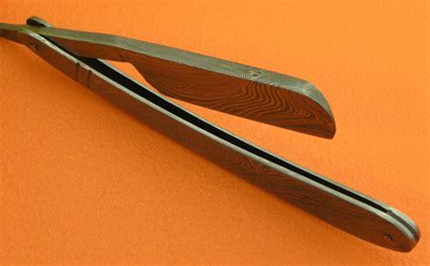damascus razor custom handmade damascus razor barber
