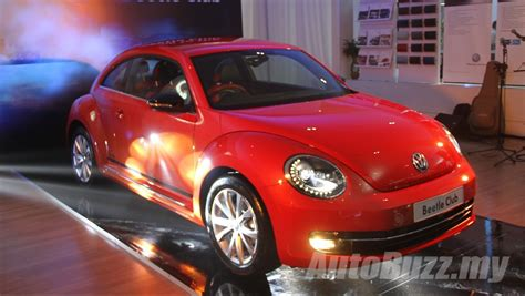 volkswagen malaysia volkswagen malaysia launches the beetle club edition