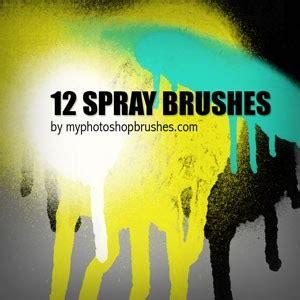 spray paint effect photoshop 12 spray brushes photoshop brushes