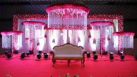 flower  cloth  stage decoration easy stage decoration weddiing mandap decor youtube