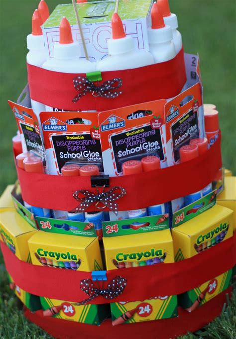 Cake Supplies by What S Scrapping Back To School Supply Cake