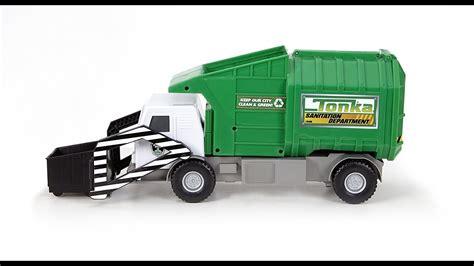 tonka mighty motorized truck tonka mighty motorized garbage ffp truck for