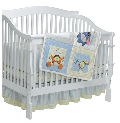 Soft Baby Crib Sheets by Soft And Fuzzy Pooh 4 Baby Crib Bedding Set