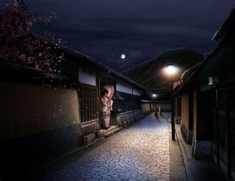 photoshop tutorial japanese art combine stock photography to create a sleepy japanese