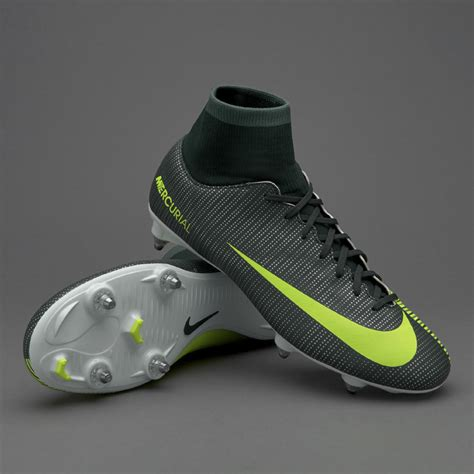 Sepatu Bola Soccer Nike Mercurial Vapor Xi Cr7 Grey Orange Fg Murah sepatu bola nike mercurial victory vi cr7 df sg seaweed volt hasta white