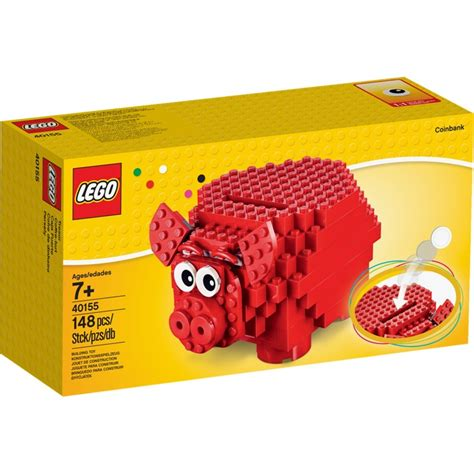 Exclusive Celengan Post Box Mail Coin Box lego 40155 piggy coin bank money box brand new in box