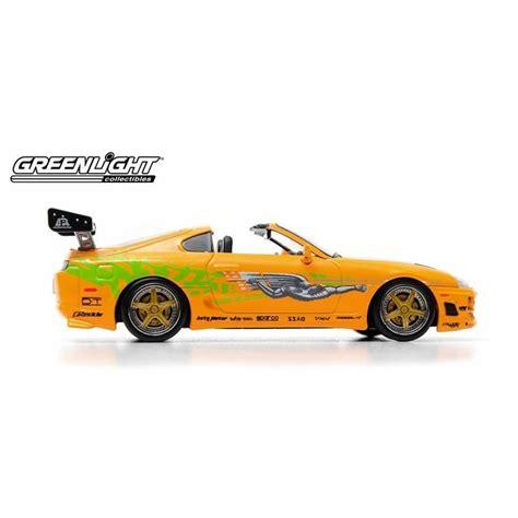 Greenlight Fast Furious Toyota Supra Mk Iv 1995 toyota supra mk iv fast furious