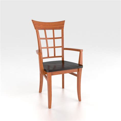 discount armchair canadel cha2276wa custom dining transitional armchair