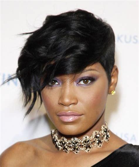 divas of atlanta keke s short hair styles keke palmer short wavy hairstyle try on this hairstyle