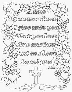 love chapter coloring page best 25 john 13 34 ideas on pinterest