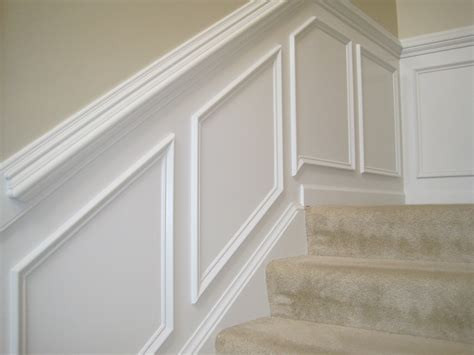 cheap chair rail ideas make your own quot paneling quot look by putting moulding up and a