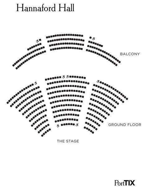merrill auditorium seating map seat map hannaford porttix