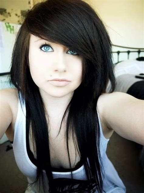 haircuts for long hair emo 67 emo hairstyles for girls i bet you haven t seen before