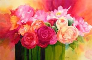 paintings of flowers famous watercolor flower paintings weneedfun